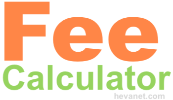 Fee Calculator