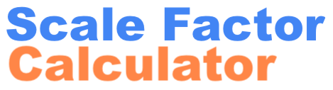 Scale Factor Calculator